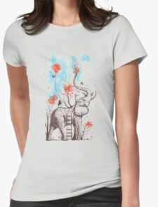 A Happy Place Womens Fitted T-Shirt