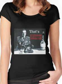 That's a Bingo! Women's Fitted Scoop T-Shirt