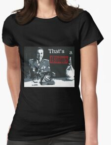 That's a Bingo! Womens Fitted T-Shirt