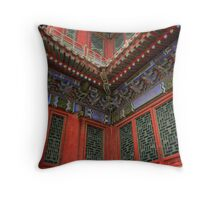 Chinese Colours Throw Pillow