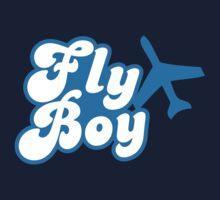 Fly Boy with jet plane by jazzydevil