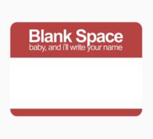 blank space by andrw