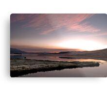 Frosty Drakensberg sunrise Metal Print