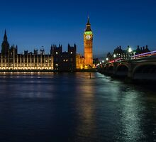 Westminster, London by Carolyn Eaton