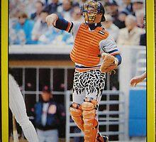 304 - Mickey Tettleton by Foob's Baseball Cards