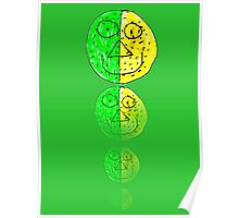 The Green and Yellow one Poster