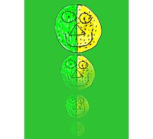 The Green and Yellow one Photographic Print