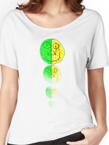 The Green and Yellow one Women's Relaxed Fit T-Shirt