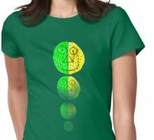 The Green and Yellow one Womens Fitted T-Shirt