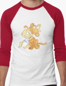 Tommy from Rugrats Men's Baseball ¾ T-Shirt