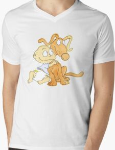 Tommy from Rugrats Mens V-Neck T-Shirt