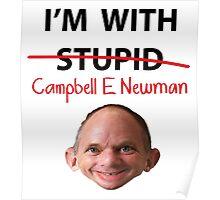 Cambell E Newman T-Shirt parody Poster