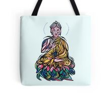 Swirly Buddha Friend Tote Bag