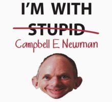 Cambell E Newman T-Shirt parody T-Shirt