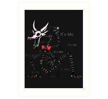 Mangle Five Nights at Freddy's - It's Me Art Print
