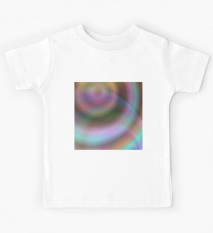 Colorful swirl abstract Kids Tee
