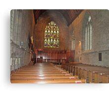 Inside Dunkeld Parish Church Metal Print