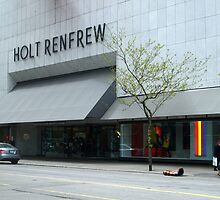 Holt Renfrew 144 Bloor St.  Toronto, On by bluekrypton
