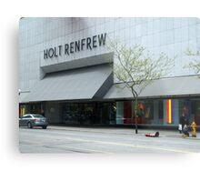 Holt Renfrew 144 Bloor St.  Toronto, On Metal Print