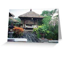 Bali, Indonesia - Luxurious Nap Greeting Card