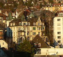 City of Zurich, Switzerland by Kosan
