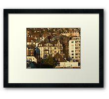City of Zurich, Switzerland Framed Print