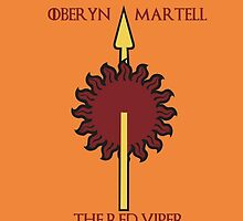 Oberyn Martell - The Red Viper by Bastards And  Broken Things