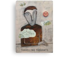 Travelling Thoughts Canvas Print