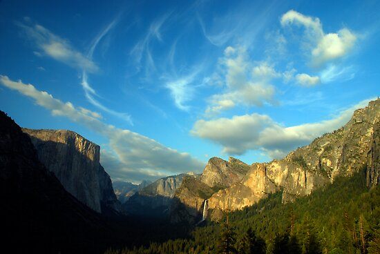 Yosemite Valley Cloudscape by Benjamin Padgett