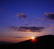 Blue Ridge Sunset by Jeff J.