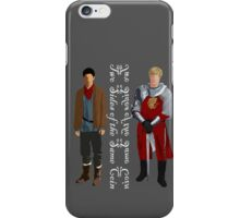Two sides (light) iPhone Case/Skin