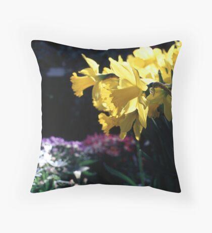 Daffodils II Throw Pillow