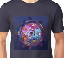 Colorful metallic orb Unisex T-Shirt