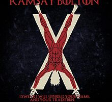 Ramsay Bolton by Bastards And  Broken Things