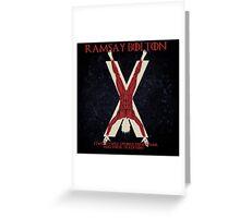 Ramsay Bolton Greeting Card