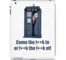 The Doctor will see you now iPad Case/Skin