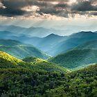 Western North Carolina Southern Appalachian Mountains Scenic by MarkVanDyke