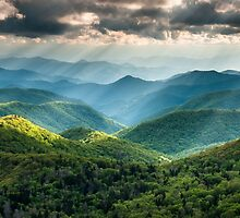 Western North Carolina Southern Appalachian Mountains Scenic by MarkVanDyke