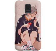 A little chat with myself Samsung Galaxy Case/Skin