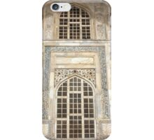 Taj Mahal Facade - Agra - India iPhone Case/Skin