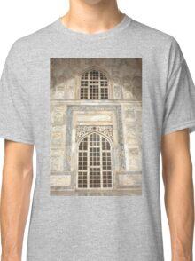 Taj Mahal Facade - Agra - India Classic T-Shirt