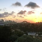Sydney Sunset from Mosman by GeorgeOne