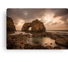 Great Pollet Sea Arch Canvas Print