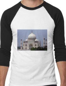 Taj Mahal - Agra - India  Men's Baseball ¾ T-Shirt