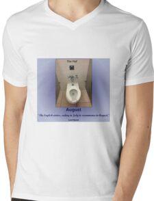 Toilets of New York 2015 August - The Met' Mens V-Neck T-Shirt