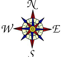 Compass Rose by NetoboDesigns