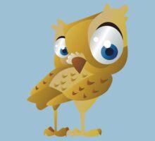 Funny owl One Piece - Short Sleeve