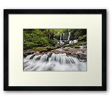 Jocassee Gorges Upcountry South Carolina Waterfall Framed Print