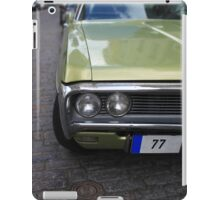 American car on the streets iPad Case/Skin