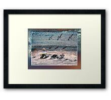 Caught in Reality Framed Print